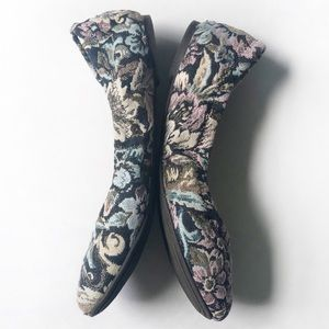 Lucky Brand Shoes - Lucky Brand Emmie Shady Spruce Floral Flats
